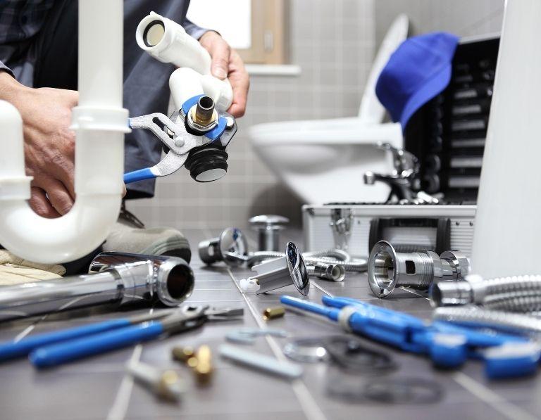 Drain leakage repairing
